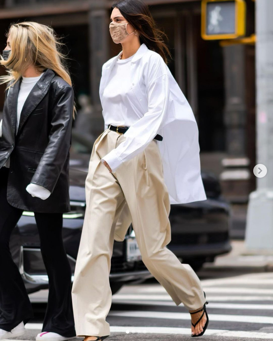 Kendall Jenner ice tone look